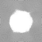 Linienelementkreishalbtonhintergrund Stockbilder