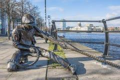 Linienrichter Statue Lizenzfreie Stockbilder