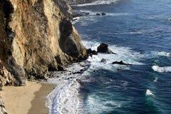 linii brzegowej duży sur Zdjęcia Royalty Free