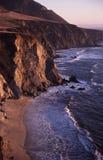 linii brzegowej kalifornii Obraz Royalty Free