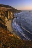 linii brzegowej kalifornii Fotografia Stock