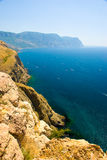 linii brzegowej morze Fotografia Royalty Free