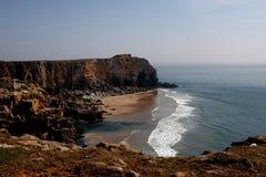 linii brzegowej plażowy pembrokeshire Fotografia Stock