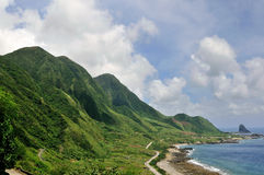 linii brzegowej wyspy orchidea Obraz Stock