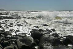 Linii brzegowych skały Zdjęcie Royalty Free
