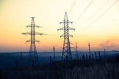 Linii energetycznej życie Zdjęcie Royalty Free