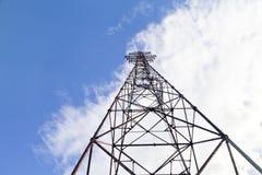 Linii energetycznej poparcie Zdjęcie Stock