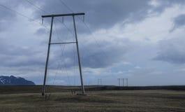 Linie energetyczne Fotografia Stock