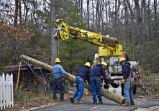 linii energetycznych naprawy Fotografia Royalty Free