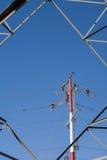 Linii energetycznych naprawy Obraz Royalty Free