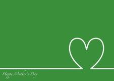 Linii horyzontu matek Szczęśliwy dzień Obrazy Royalty Free