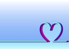 Linii horyzontu matek Szczęśliwy dzień, fluorescencyjny Fotografia Stock