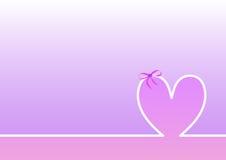 Linii horyzontu matek Szczęśliwy dzień, różowy tło Zdjęcia Stock