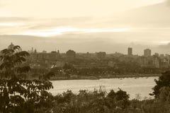 Linii horyzontu miasto Hawański istny Kuba zdjęcie royalty free