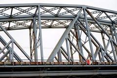 Linii kolejowej bridżowy plenerowy Obrazy Stock