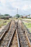 Linii kolejowej frekwenci punkt Obraz Stock