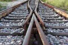 Linii kolejowej frekwencja Obraz Royalty Free