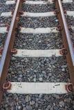 Linii kolejowej stacja Fotografia Royalty Free