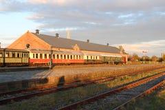 Linii kolejowej stacja Zdjęcie Stock
