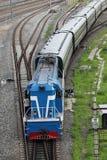 Linii kolejowej taborowa kolej Fotografia Stock