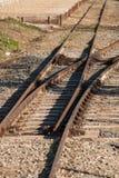 Linii kolejowej złącze Zdjęcie Royalty Free