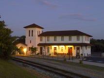 Linii kolejowej zajezdnia-- Bridgeport, Alabama zdjęcie stock