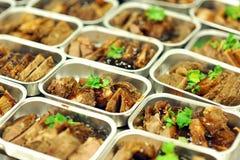 linii lotniczej jedzenie Obraz Stock