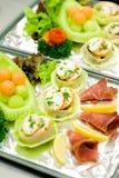 linii lotniczej jedzenie Zdjęcie Royalty Free