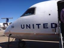 Linii lotniczej podróż Fotografia Stock