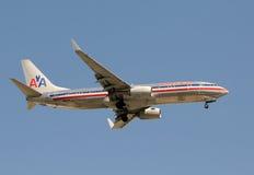 linii lotniczych amerykanina strumienia pasażer Obrazy Royalty Free