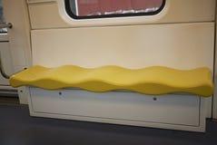 Linii 1 metra siedzenia Obraz Stock