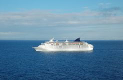 liniowa ocean Obraz Royalty Free