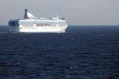 liniowa ocean dwa Obrazy Stock