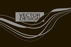 liniowy abstrakcjonistyczny tło ilustracja wektor