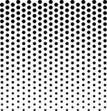 Liniowy halftone wzór Okręgi, pstrzą, polki kropki tło obraz royalty free