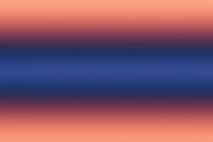 Liniowy pomarańcze i błękita gradiend tło Fotografia Stock