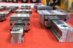 Liniowy przewdonik dla maszynowych dodatkowych części zdjęcia stock