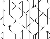 linjär abstrakt bakgrund Royaltyfri Fotografi
