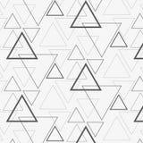 Linjär triangelvektormodell stock illustrationer