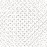 Linjär vektormodell med tunna krullningscirkellinjer och snirklar dekorativt galler royaltyfri illustrationer