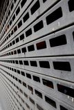 linjärt dörrgarage Arkivbilder