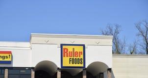 LinjalFoods livsmedelsbutik, Brownsville, Tennessee Arkivfoto