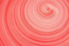 Linje av den röda och vita cirkeln Arkivfoto