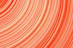 Linje av röd cirkelbakgrund Royaltyfria Bilder