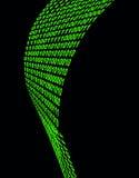 linje för binär kod Fotografering för Bildbyråer