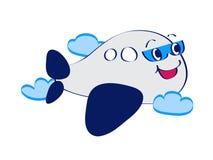 linje för flygplankonstkomiker Fotografering för Bildbyråer