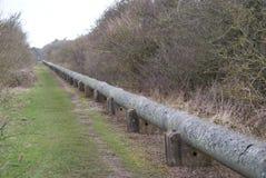 Linje för kärn- avfalls Fotografering för Bildbyråer