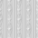 linje för ram för kors för kurva för konst för vitbok 3D oval Diamond Gem vektor illustrationer