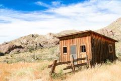 Linje för tappningcowboystaket kabin Royaltyfria Foton