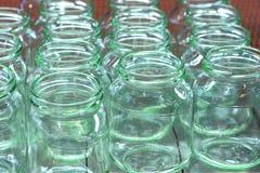 Linje glass produktionaffär Royaltyfri Fotografi